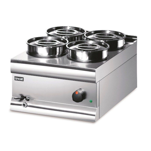 Lincat Silverlink 600 BS4W Stainless Steel Wet Heat Bain Marie